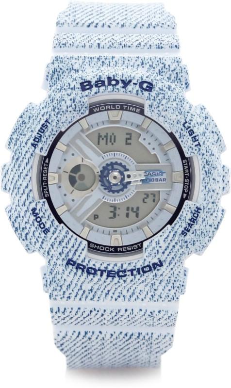 Casio BX050 Baby G Analog Digital Watch For Women