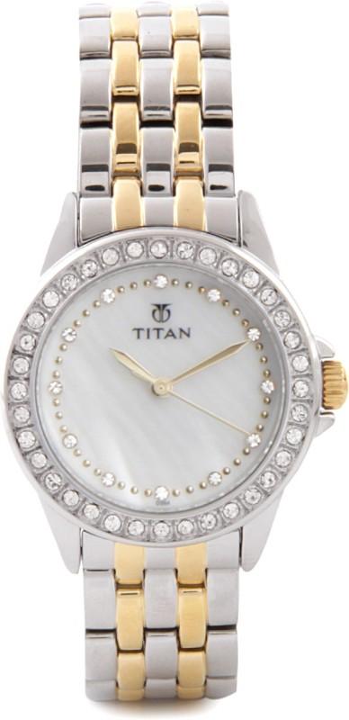 Titan NE9798BM02 Purple Analog Watch For Women