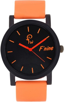 FNINE CASUAL STYLISH ORRANGE WATCH FOR MAN / WOMEN Analog Watch  - For Couple