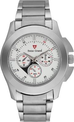 Swiss Grand Sg-0800_white Grand Analog Watch  - For Men