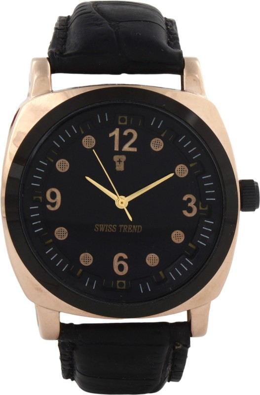 Swiss Trend Artshai1616 Copper Finish Analog Watch For Men