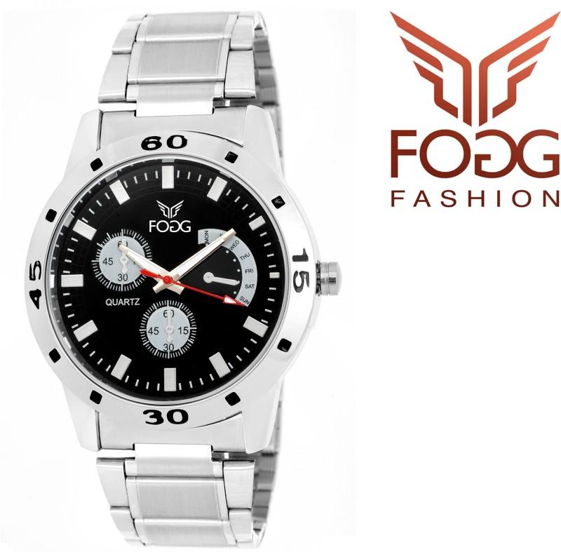 FOGG 12001 BK Modish Analog Watch For Men