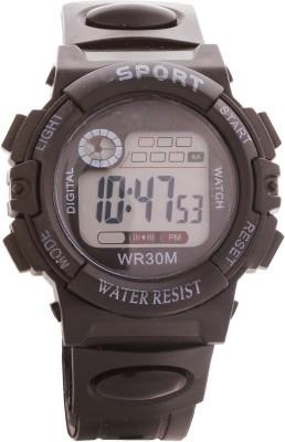 Telesonic Td-Wr30m-01 (Black) Honhx S-Sport Series Digital Watch  - For Men