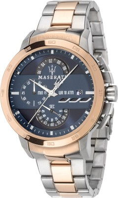 Maserati Time R8873619002 Ingegno Analog Watch  - For Men, Boys