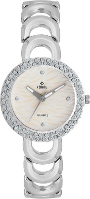 CORAL WHITE LEO Analog Watch  - For Women, Girls