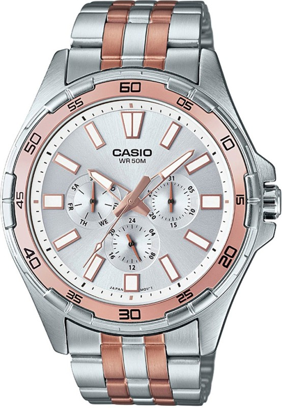 Casio A1157 Enticer Mens Analog Watch For Men