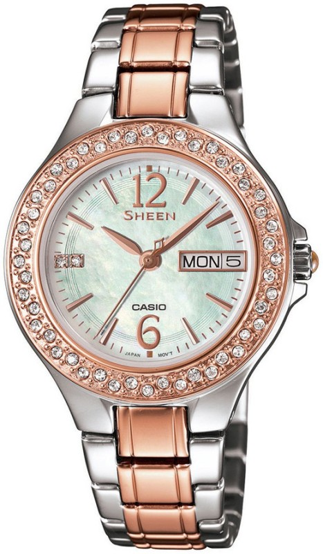 Casio SX100 Sheen Analog Watch For Women