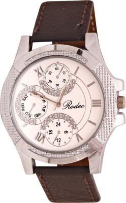 RODEC brown= strap mens fine watch Analog Watch  - For Men
