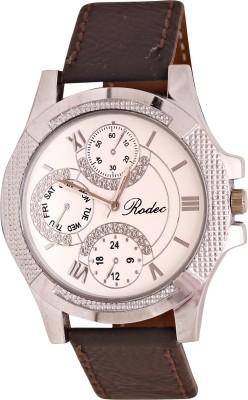RODEC brown= strap mens fine watch Analog Watch  - For Men