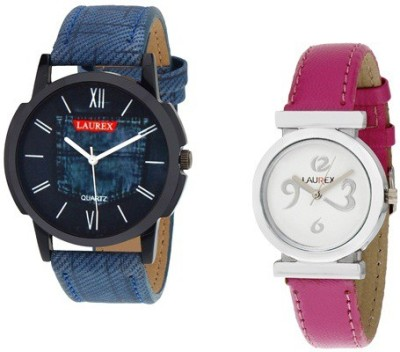Laurex LX-026-LX-026 Analog Watch  - For Couple