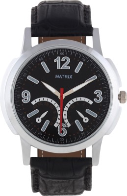 Matrix WCH-CH-BK Chrono Look Analog Watch  - For Men