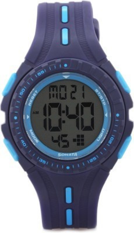 Sonata 8977PP02 Digital Watch For Women