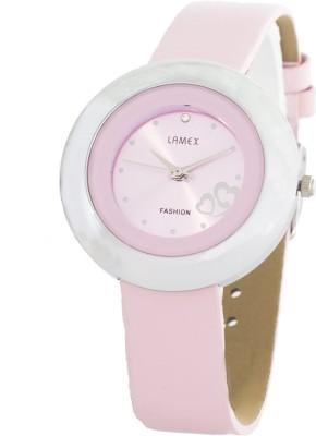 Lamex Timewear 23050-Pink-Pk-1 Analog Watch  - For Women