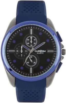 Custom 6612BBl Analog Watch  - For Men