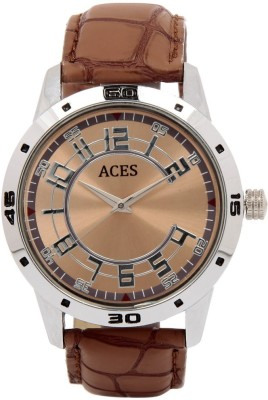Aces A-027-BR-M Analog Watch  - For Men