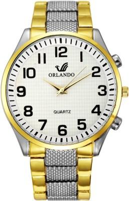 Orlando W1068GW Analog Watch  - For Men
