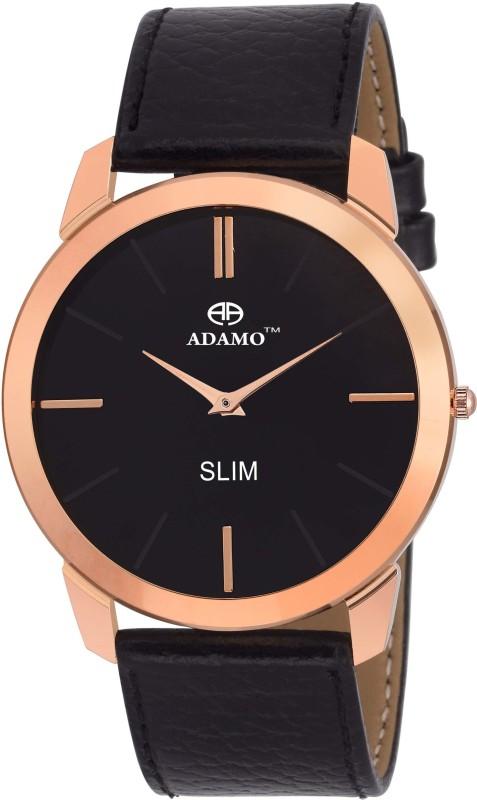 ADAMO AD64KL02 Slim Analog Watch For Men