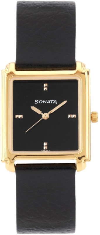 Sonata 7053YL09 Analog Watch For Men