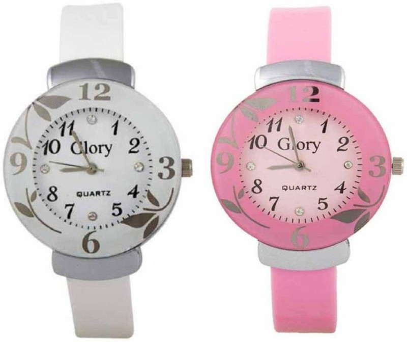 Rage Enterprise Glory Flower dail Glory 085 Analog Watch For W