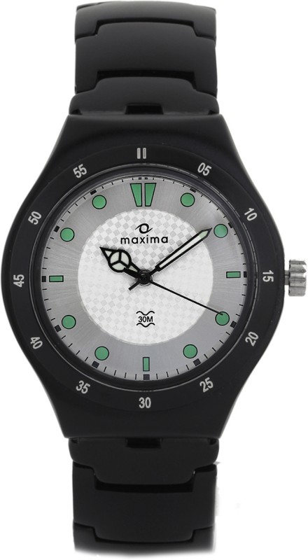 Maxima 23796CMGB Aluminium Analog Watch For Men