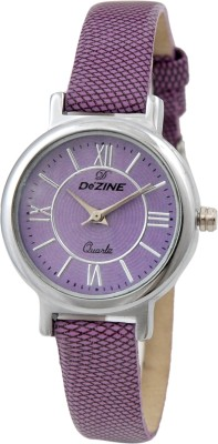 Dezine DZ-LR040-PRP-PRP Analog Watch  - For Women