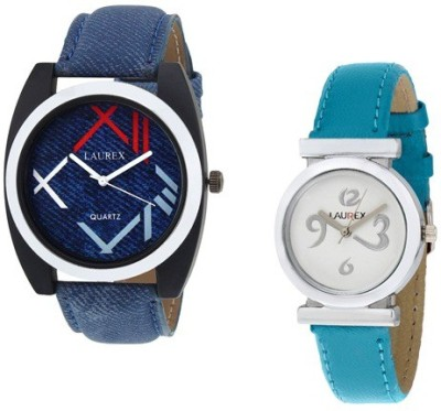 Laurex lx-034-lx-028 Analog Watch  - For Couple