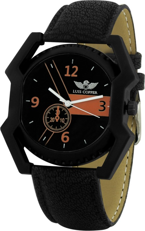 LUIS COPPER LUIS384BL3 New Style Analog Watch For Men