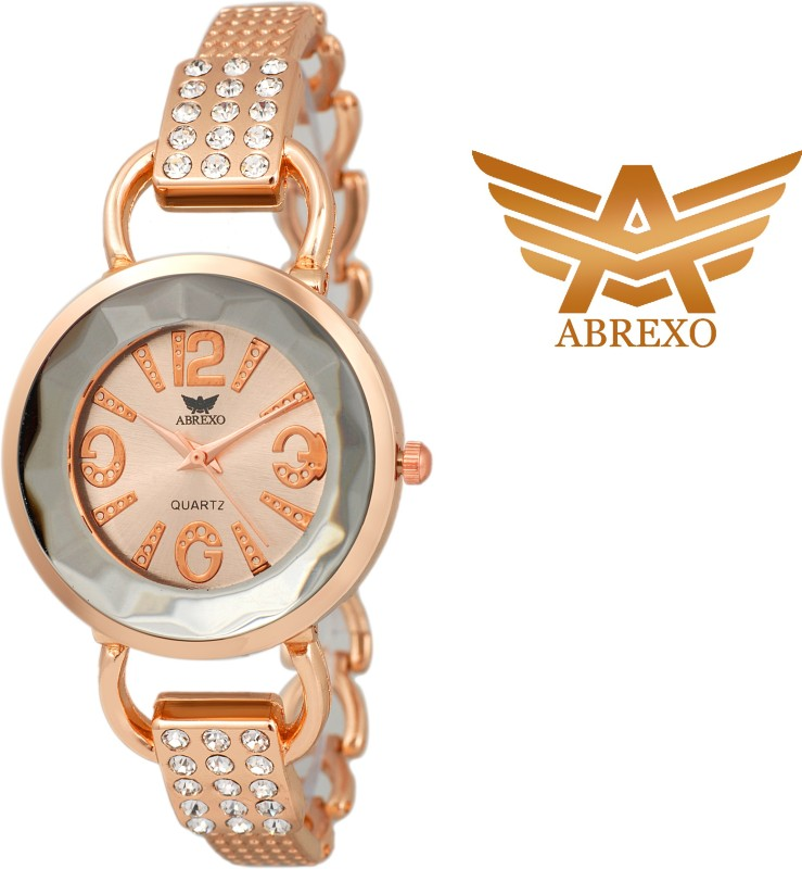 Abrexo Abx 1012 RS GD Analog Watch For Women