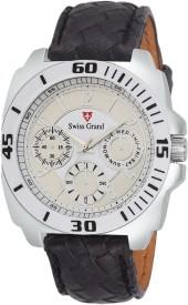 Swiss Grand S-SG-1037 Analog Watch - For Men