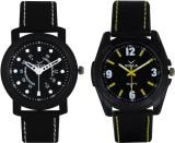 VOLGA Branded Leather Quality Designer Dial Diwali Special Combo262 Designer Sport Looks WaterProof Mens Watch Analog Watch  - For Men