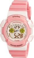 Vizion 8540B-3PINK Cold Light Digital Watch  - For Boys