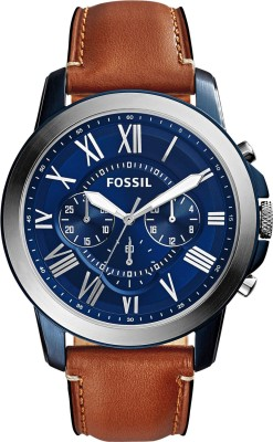 Fossil FS5151 Grant Analog Watch - For Men