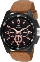 hemt HT GR534 BLK BRW Analog Watch For Men