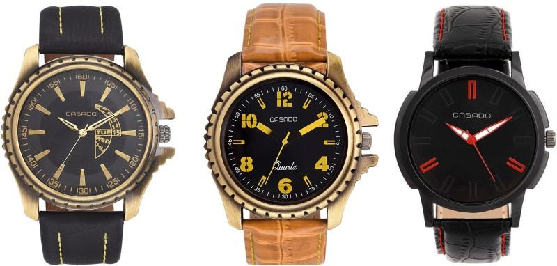 Casado 773nd155nd153 COMBO OF 3 LIFELONG MASTERPIECE Analog Watch