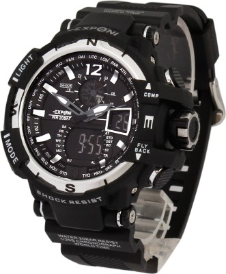Exponi EX5 Analog-Digital Watch  - For Boys, Men