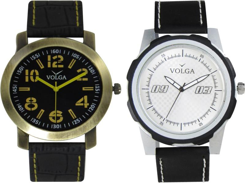 VOLGA Branded Leather Quality Designer Dial Diwali WATEN6XKYSHUSUWW