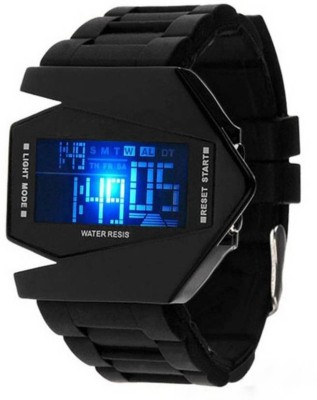 Frenzy Aircraft led Digital Watch    For Men available at Flipkart for Rs.499