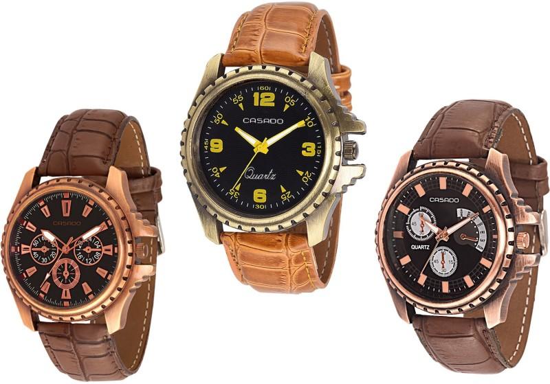 Casado 720nd155nd752 COMBO OF 3 STUNNING TIMEPIECE Analog Watch