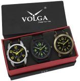 VOLGA VLW05-18-25-33 Mens Leather Belt C...