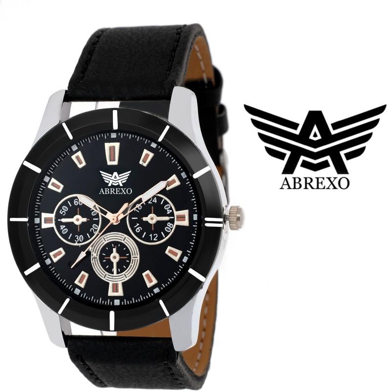Abrexo Abx 1504 BLK CHRONOGRAPH PATTERN Analog Watch For Men