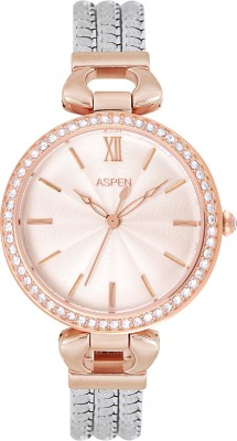 ASPEN AP1993 Aspen Silver Dial Ladies Watch- Vivid-AP1993 Analog Watch - For Women