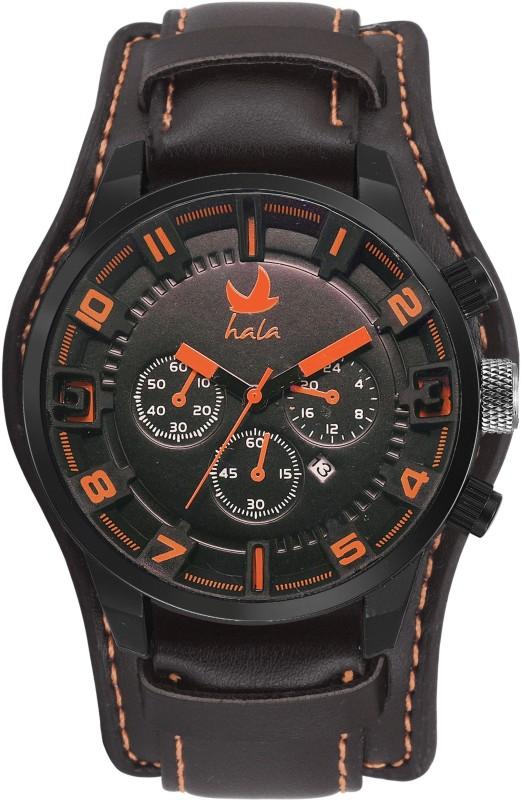 Hala Novelty Standard Date FBHA016ORG Analog Watch For Men