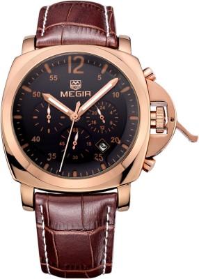 Megir 3006-RG-L Analog Watch  - For Men