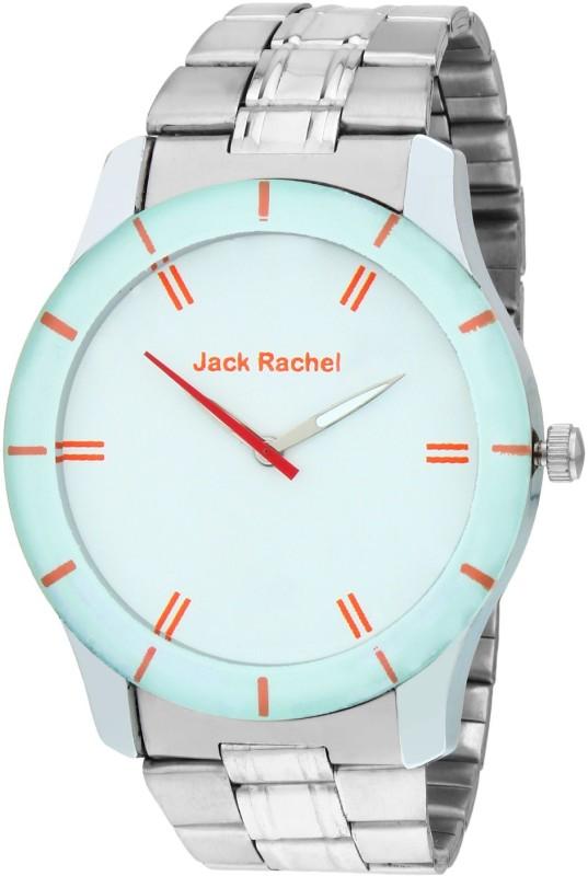 Jack Rachel JRF10Silver Analog Watch For Men