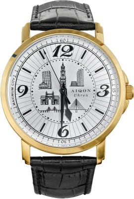 Aiqon S0440002 Maximum City Analog Watch - For Men