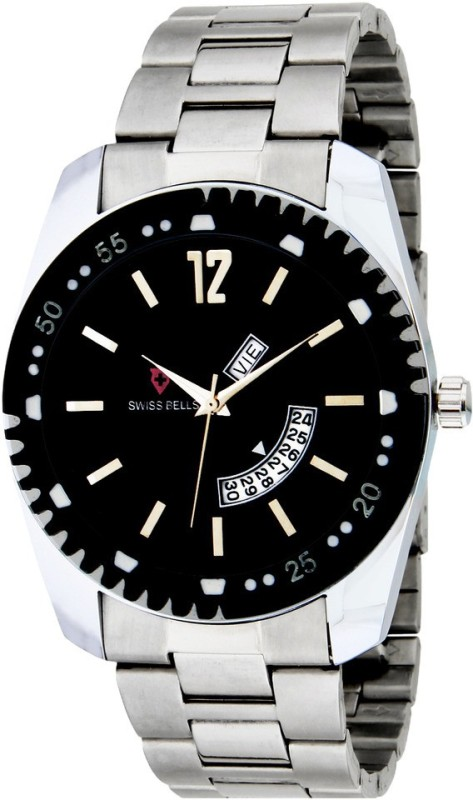 Svviss Bells TA 903BlkD Analog Watch For Men