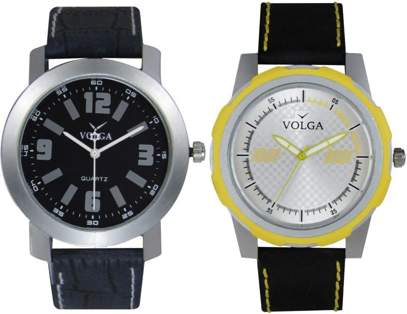 VOLGA Branded Leather Quality Designer Dial Diwali WATEN6XKGNYH8WYD