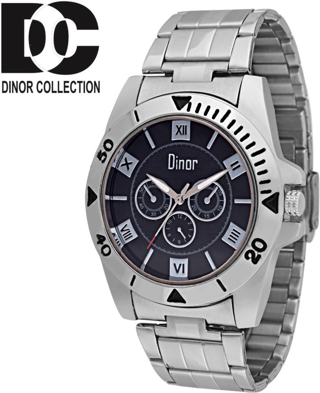 Dinor ck 8010 Tagged Analog Watch For Men