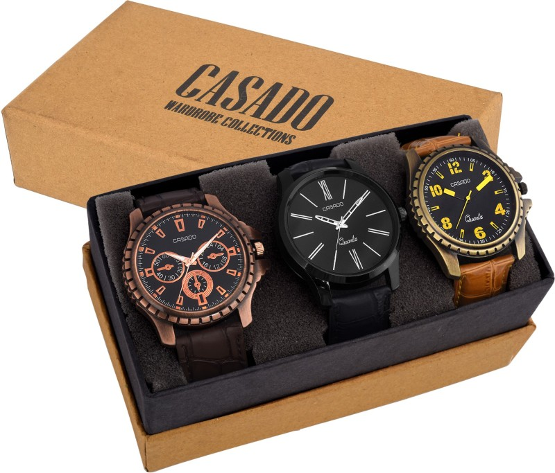 Casado 755AND720AND135 COMBO OF 3 LATEST EDITION WATCHES WITH JAP