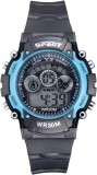 Sir Time Seven Color Light Dial Digital ...